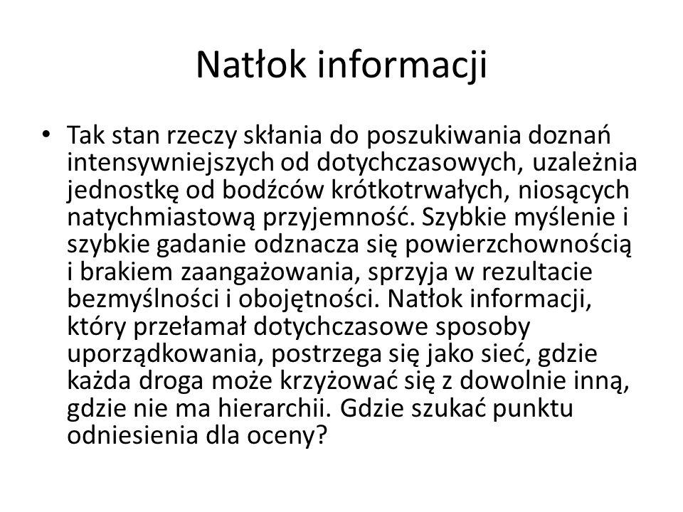 Natłok informacji