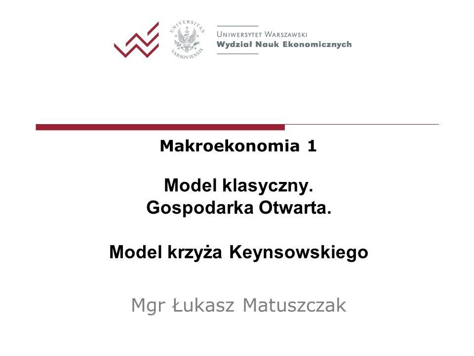 Model krzyża Keynsowskiego