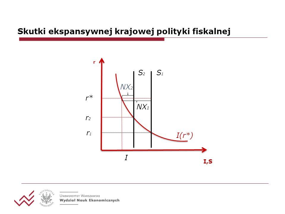 Skutki ekspansywnej krajowej polityki fiskalnej