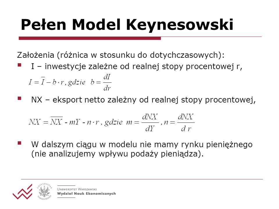 Pełen Model Keynesowski