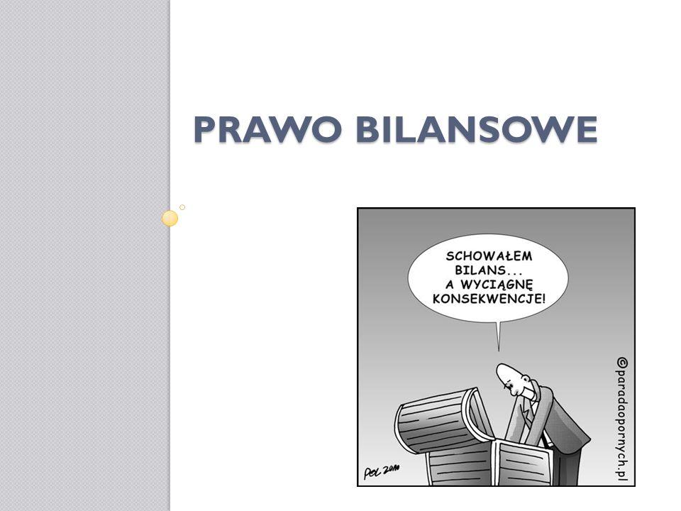 PRAWO BILANSOWE
