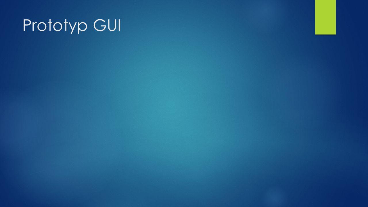 Prototyp GUI