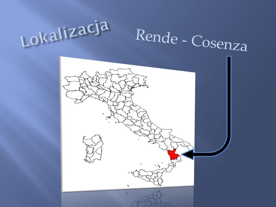 Lokalizacja Rende - Cosenza Rende - Cosenza