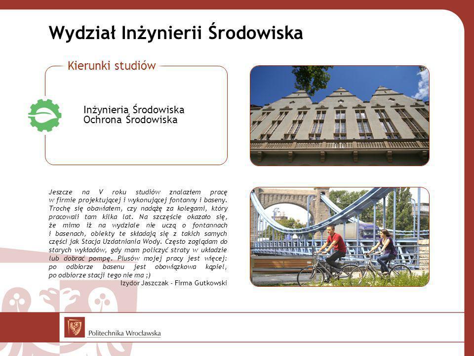 Wydział Inżynierii Środowiska
