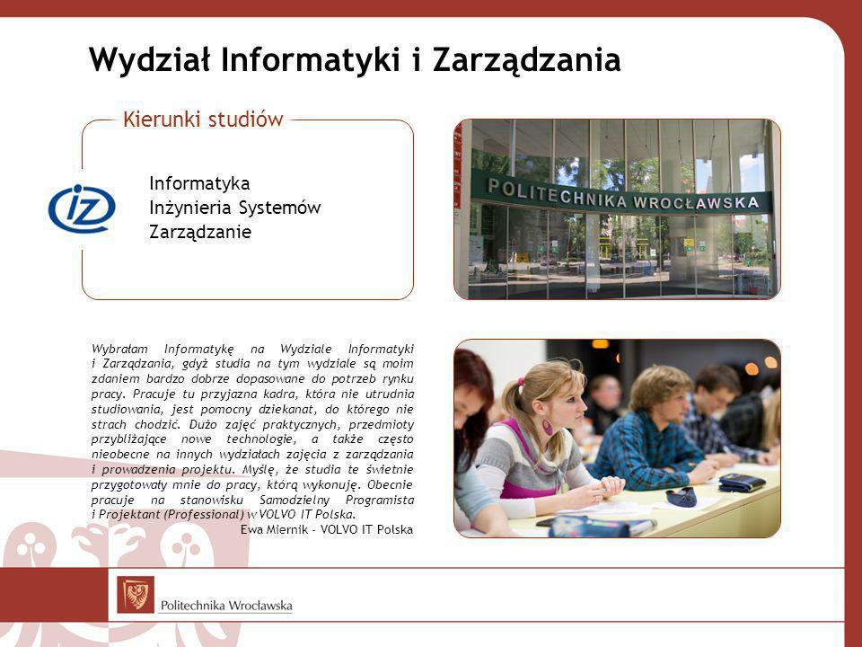 Wydział Informatyki i Zarządzania