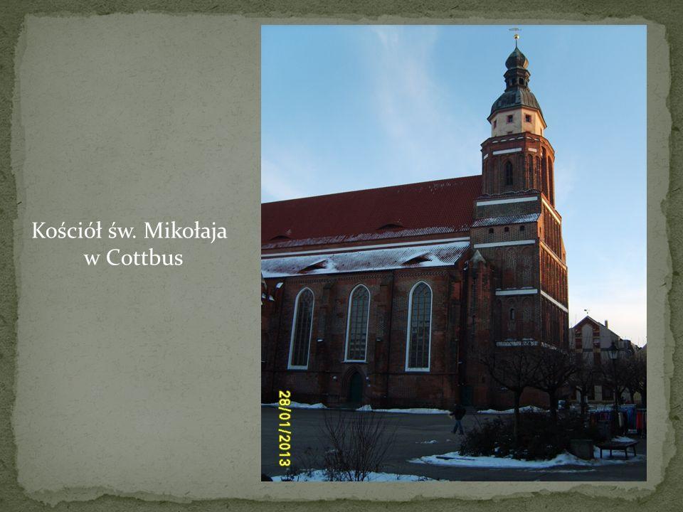 Kościół św. Mikołaja w Cottbus