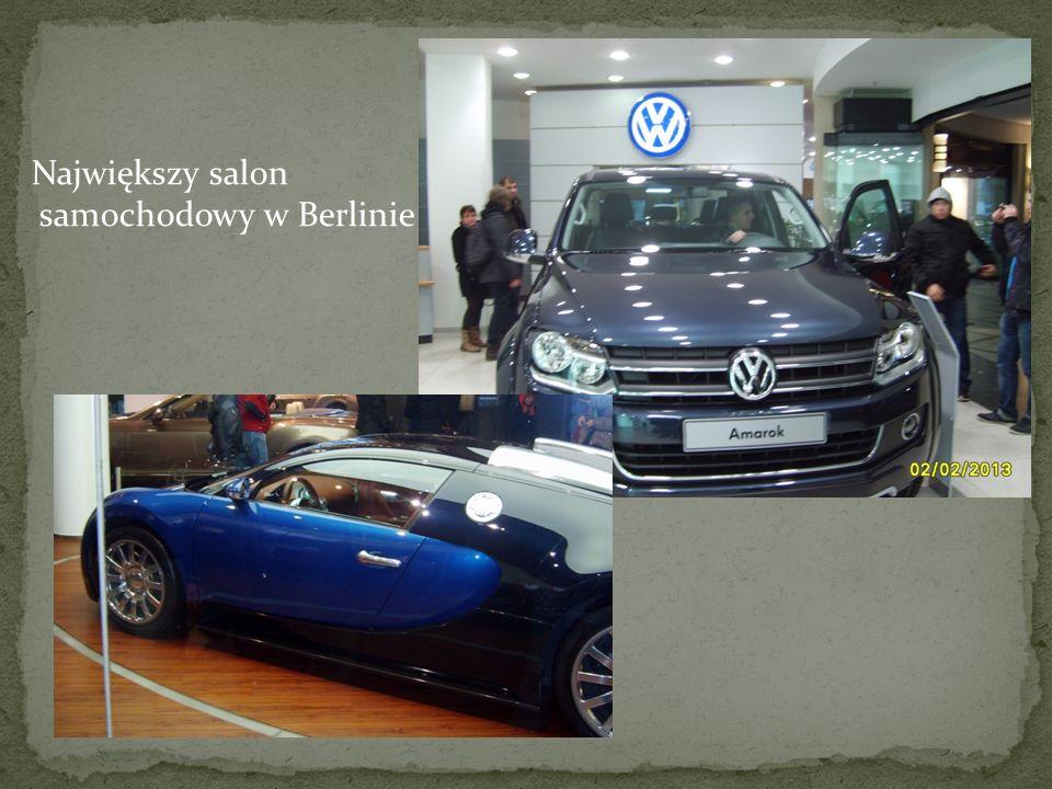 Największy salon samochodowy w Berlinie