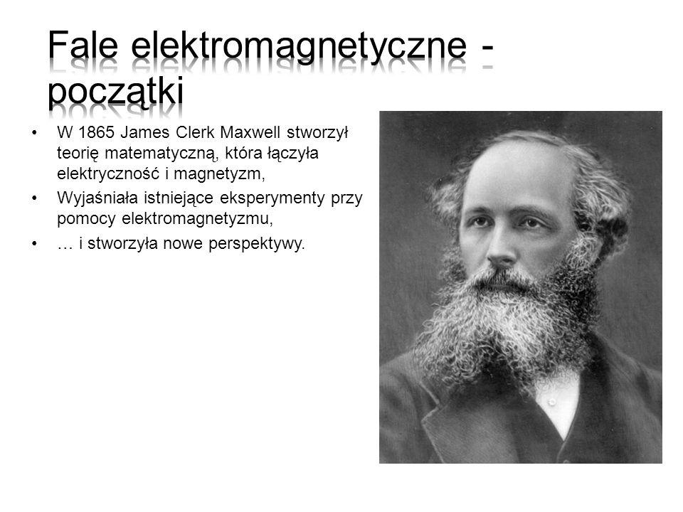 Fale elektromagnetyczne - początki