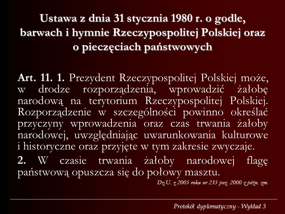 Ustawa z dnia 31 stycznia 1980 r