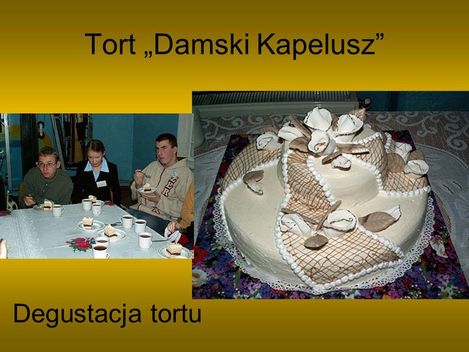 "Tort ""Damski Kapelusz"