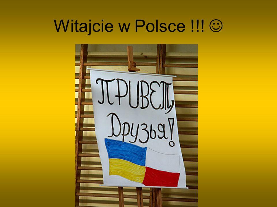 Witajcie w Polsce !!! 