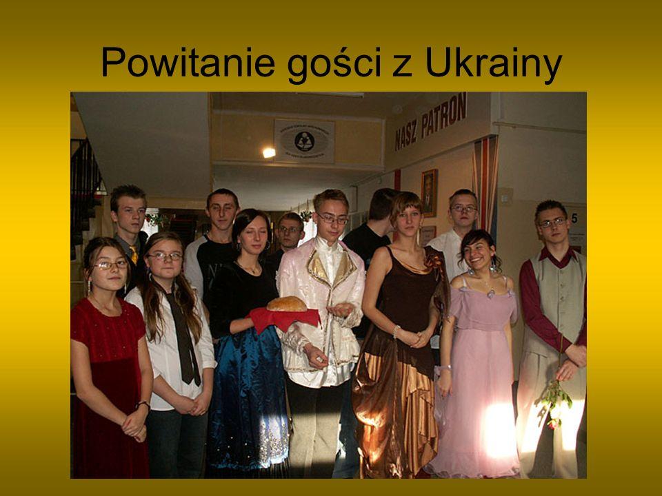 Powitanie gości z Ukrainy