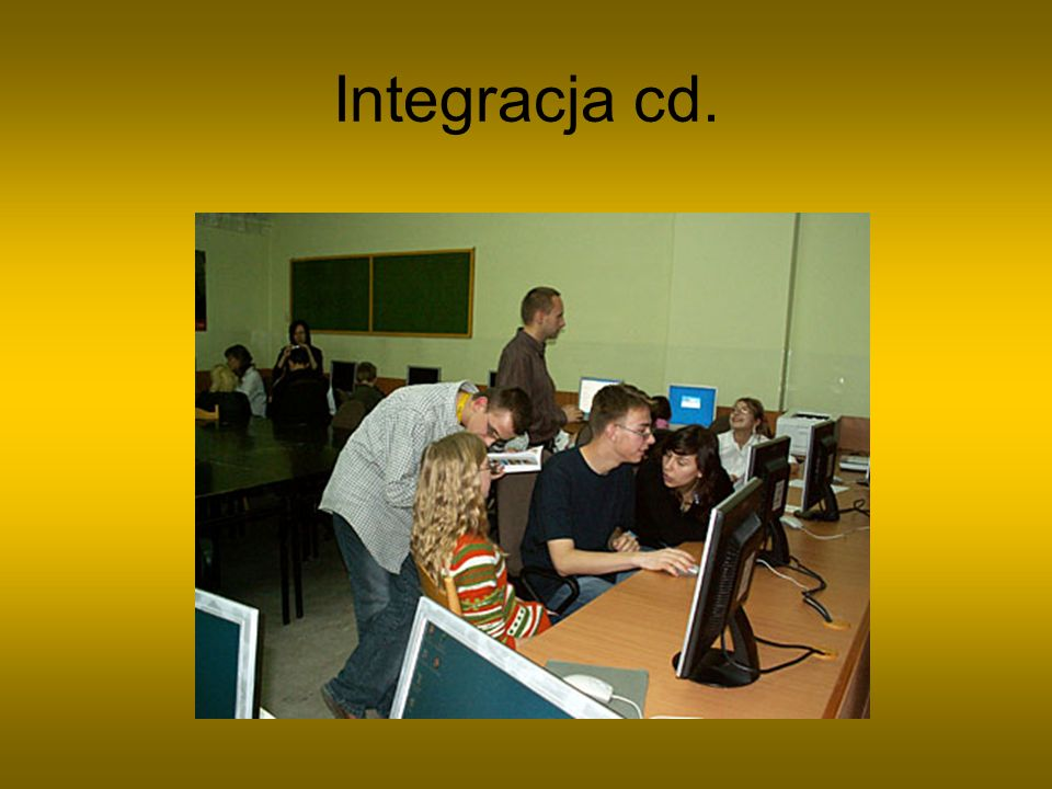 Integracja cd.