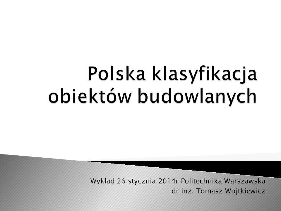 Polska klasyfikacja obiektów budowlanych