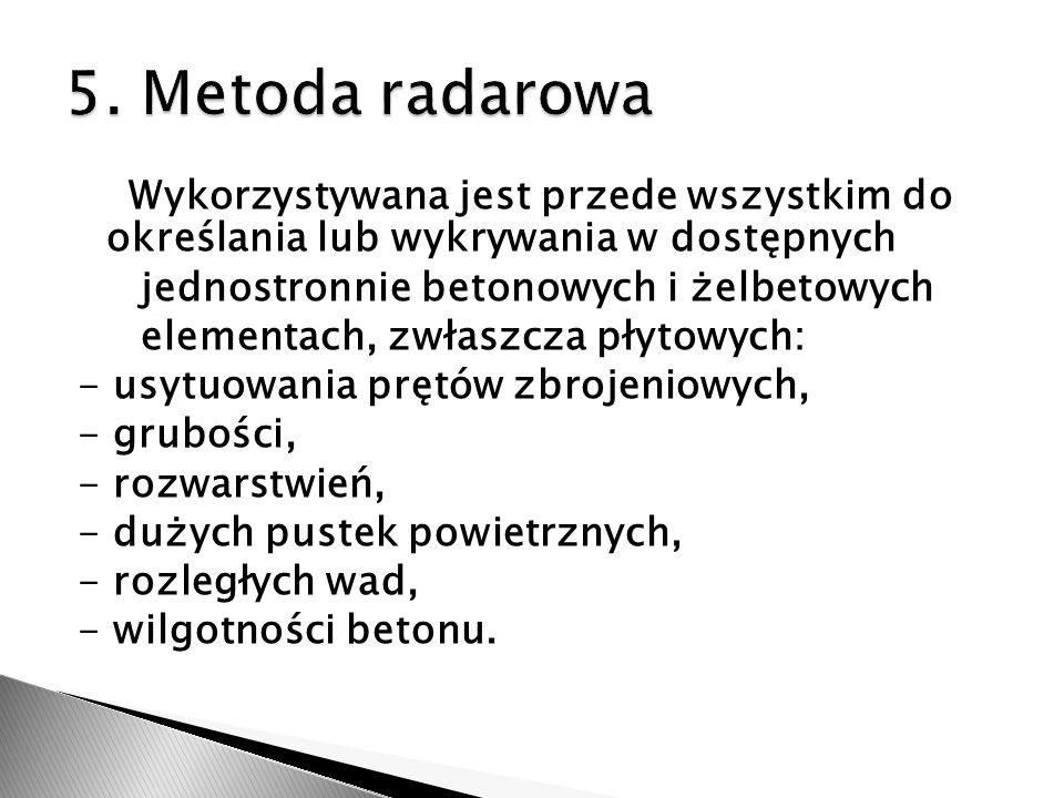 5. Metoda radarowa