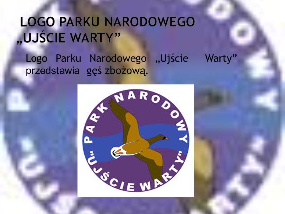 """logo parku narodowego """"ujście warty"""