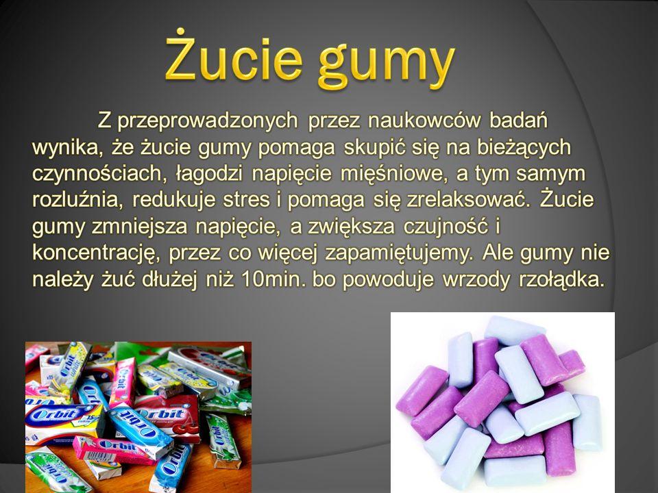 Żucie gumy