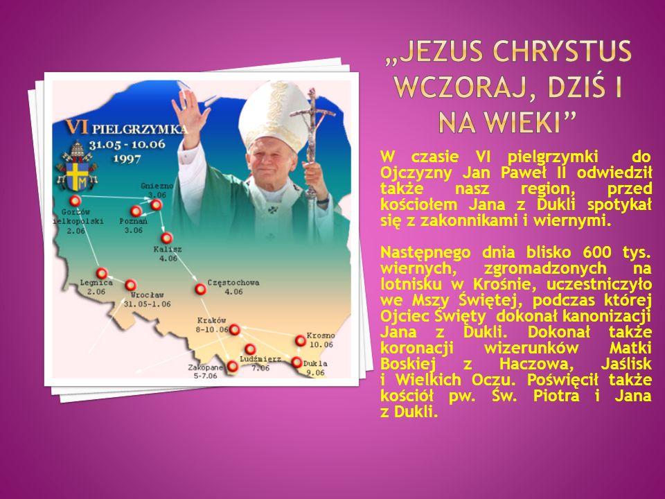 """""""Jezus chrystus wczoraj, dziś i na wieki"""