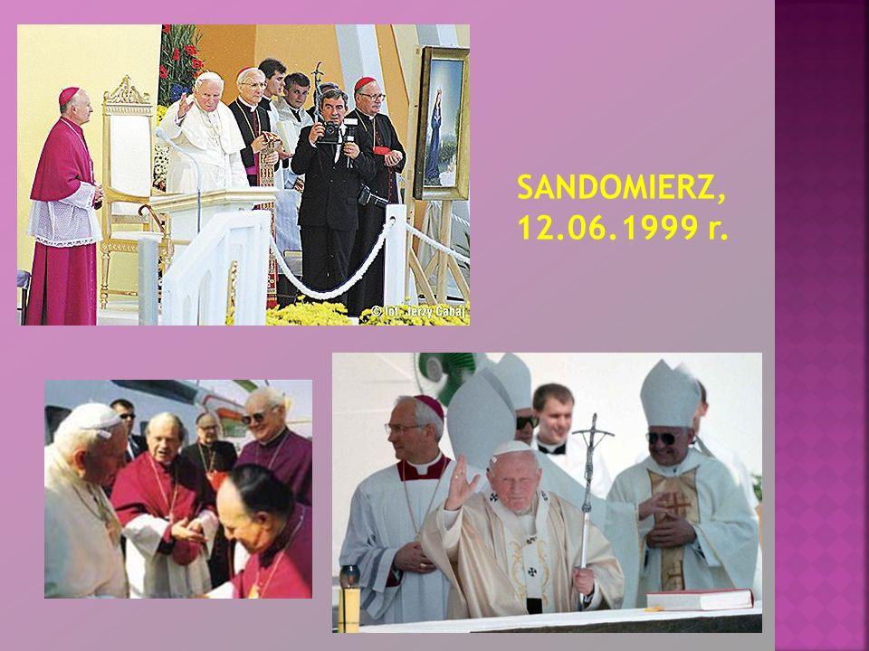 SANDOMIERZ, 12.06.1999 r.
