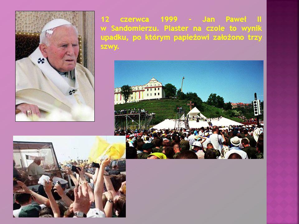 12 czerwca 1999 - Jan Paweł II w Sandomierzu