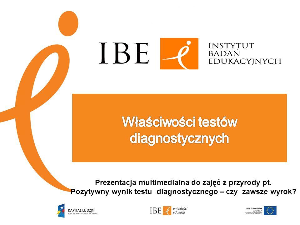 Właściwości testów diagnostycznych