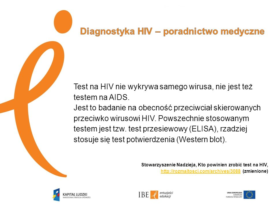 Diagnostyka HIV – poradnictwo medyczne