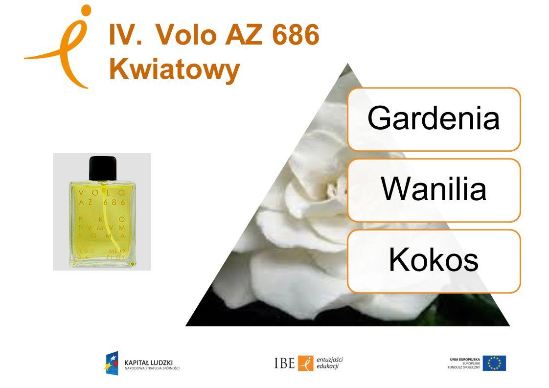 IV. Volo AZ 686 Kwiatowy Gardenia Wanilia Kokos