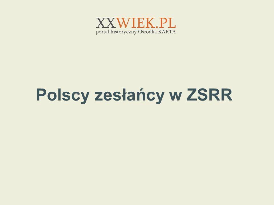 Polscy zesłańcy w ZSRR