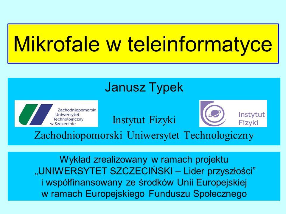 Mikrofale w teleinformatyce