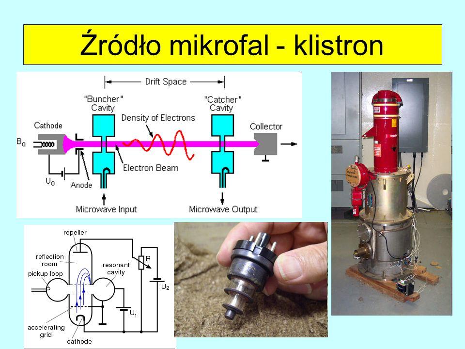 Źródło mikrofal - klistron