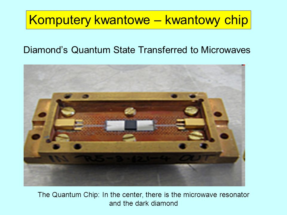 Diamond's Quantum State Transferred to Microwaves