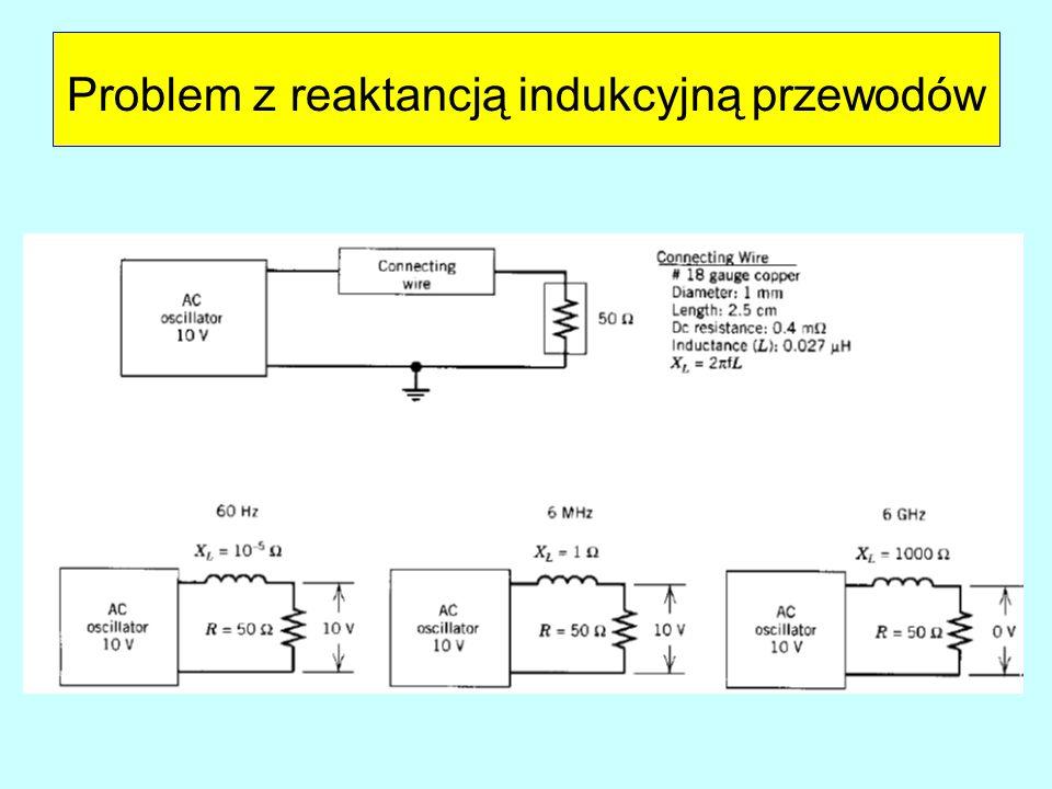 Problem z reaktancją indukcyjną przewodów