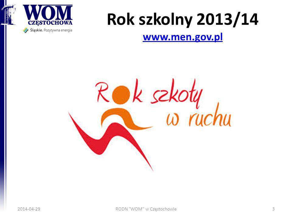 Rok szkolny 2013/14 www.men.gov.pl