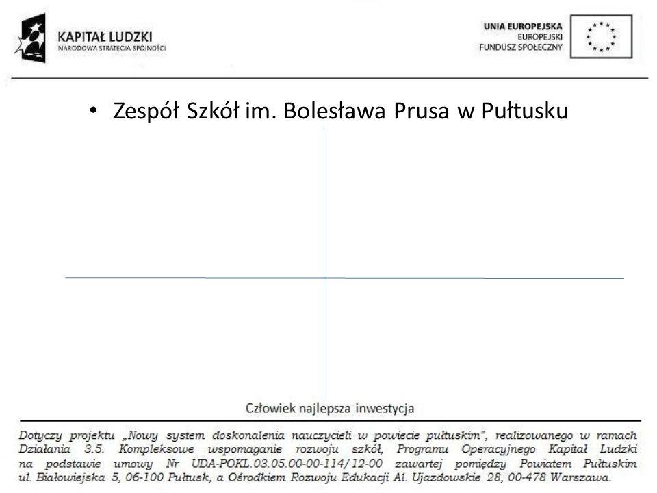 Zespół Szkół im. Bolesława Prusa w Pułtusku