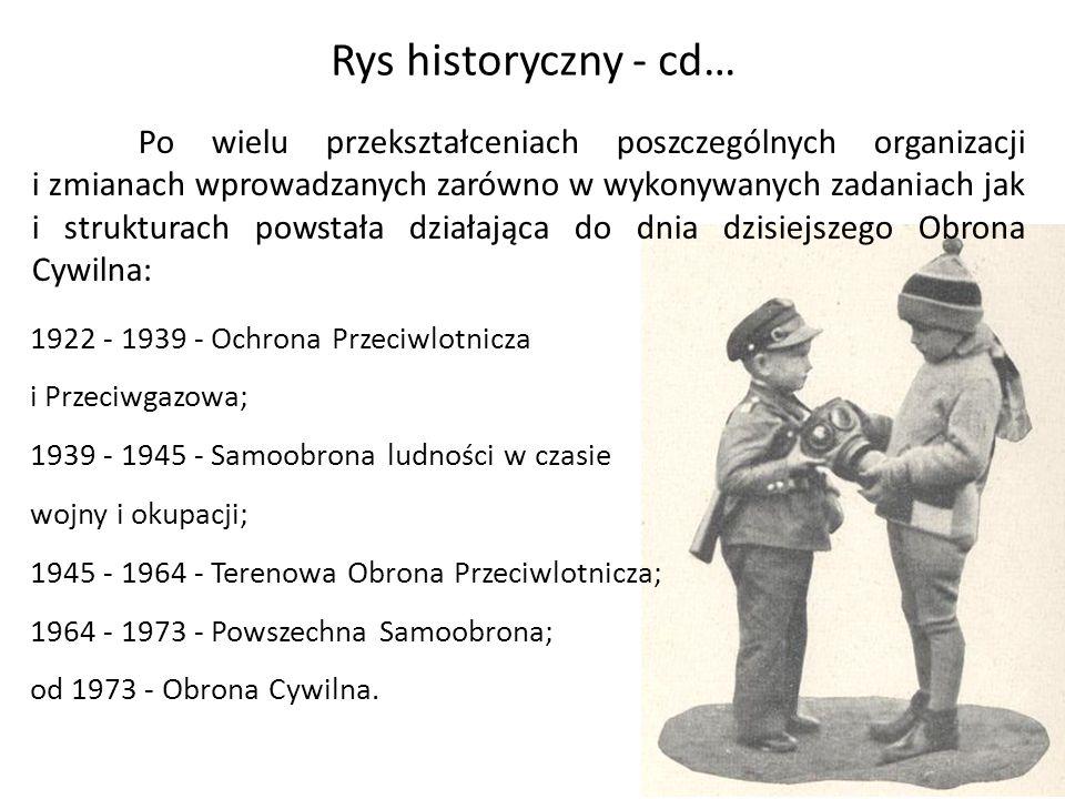 Rys historyczny - cd…