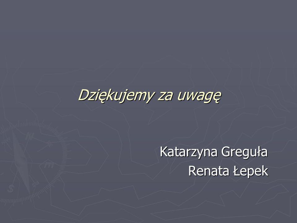 Katarzyna Greguła Renata Łepek