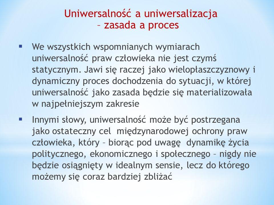 Uniwersalność a uniwersalizacja