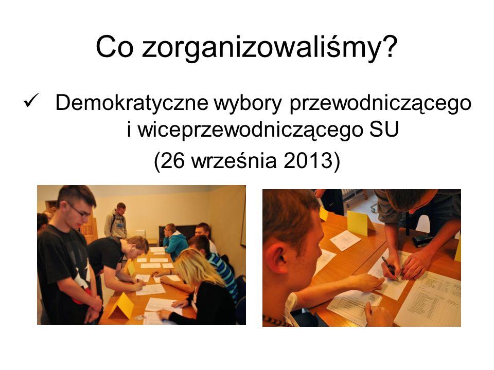 Demokratyczne wybory przewodniczącego i wiceprzewodniczącego SU