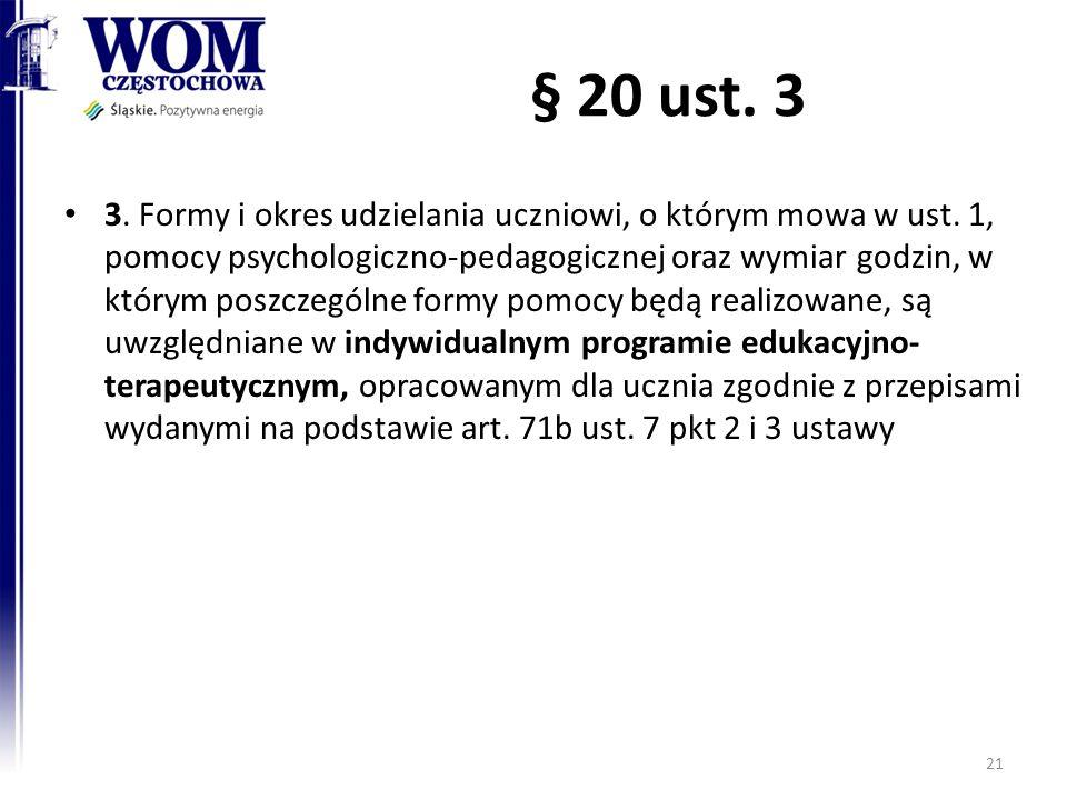 § 20 ust. 3