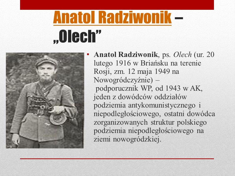 """Anatol Radziwonik – """"Olech"""