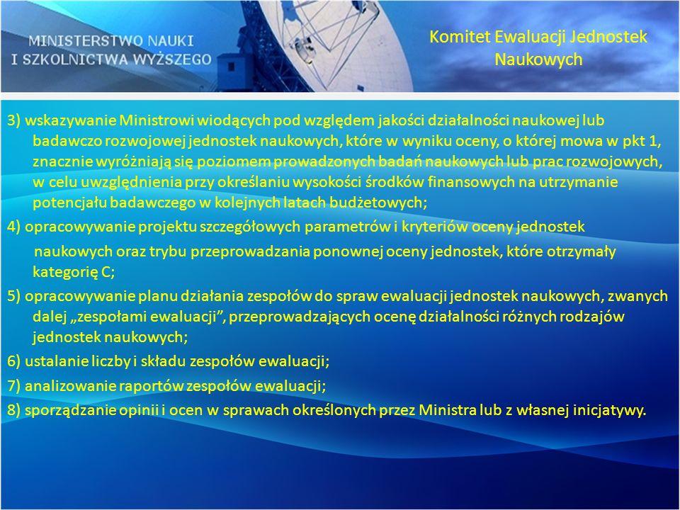 Komitet Ewaluacji Jednostek Naukowych