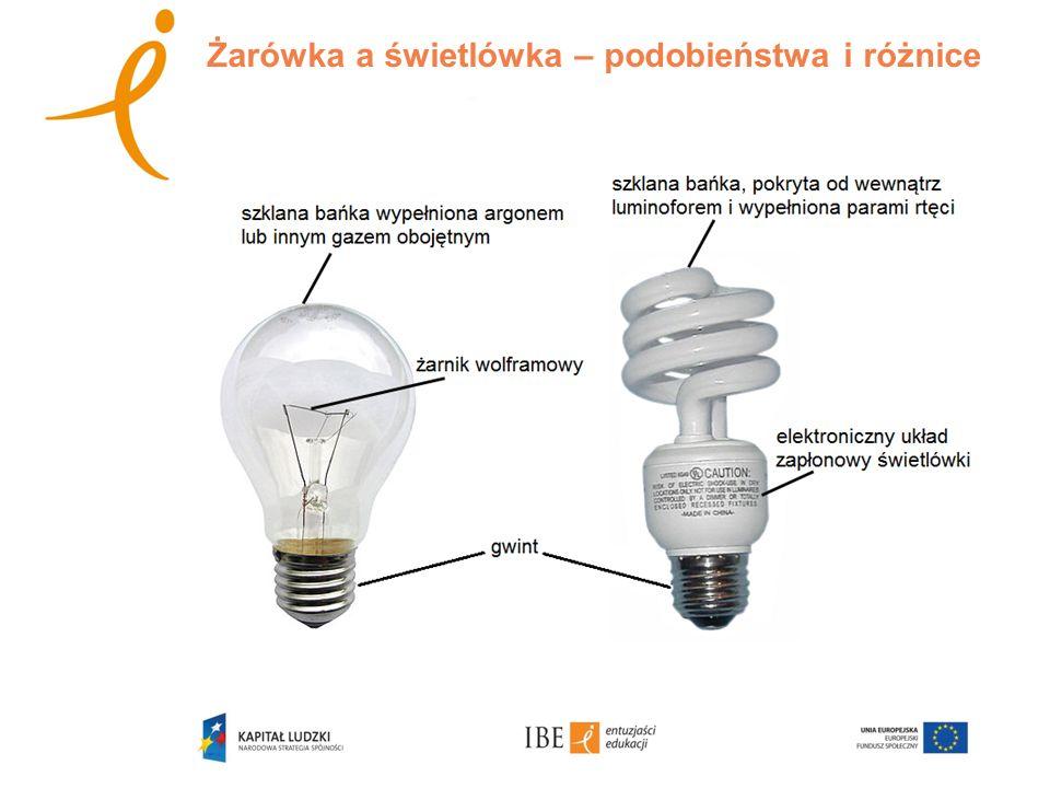 Żarówka a świetlówka – podobieństwa i różnice