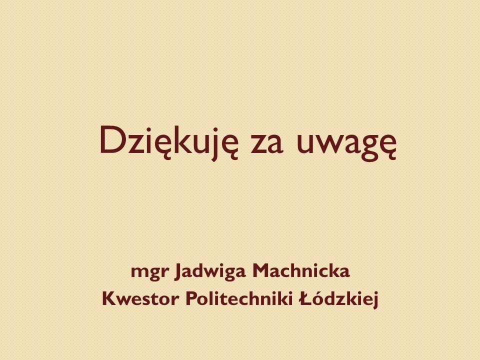 Kwestor Politechniki Łódzkiej