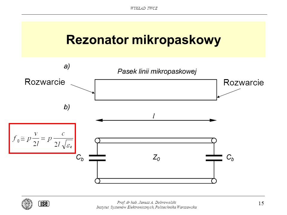 Rezonator mikropaskowy