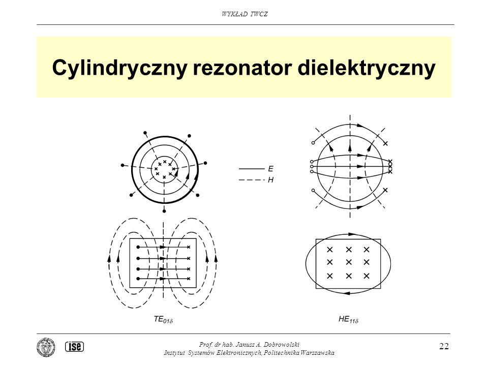 Cylindryczny rezonator dielektryczny