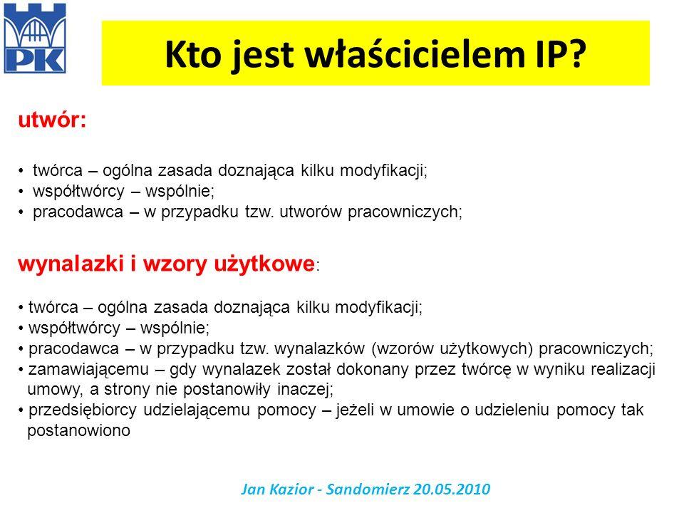 Kto jest właścicielem IP