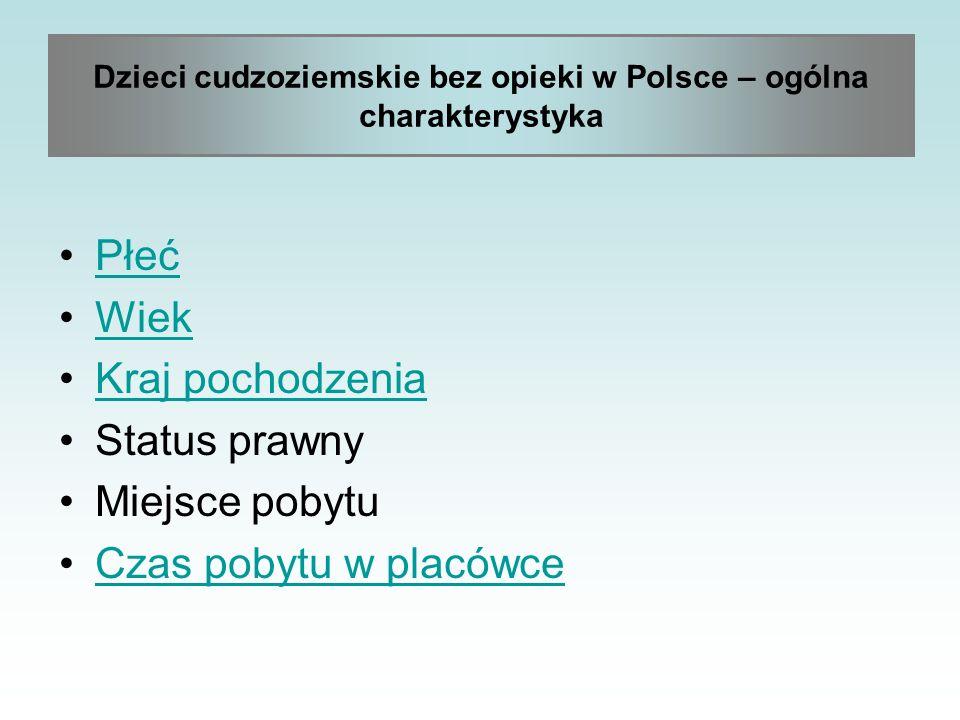 Dzieci cudzoziemskie bez opieki w Polsce – ogólna charakterystyka