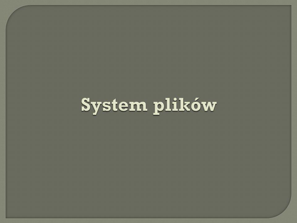 System plików