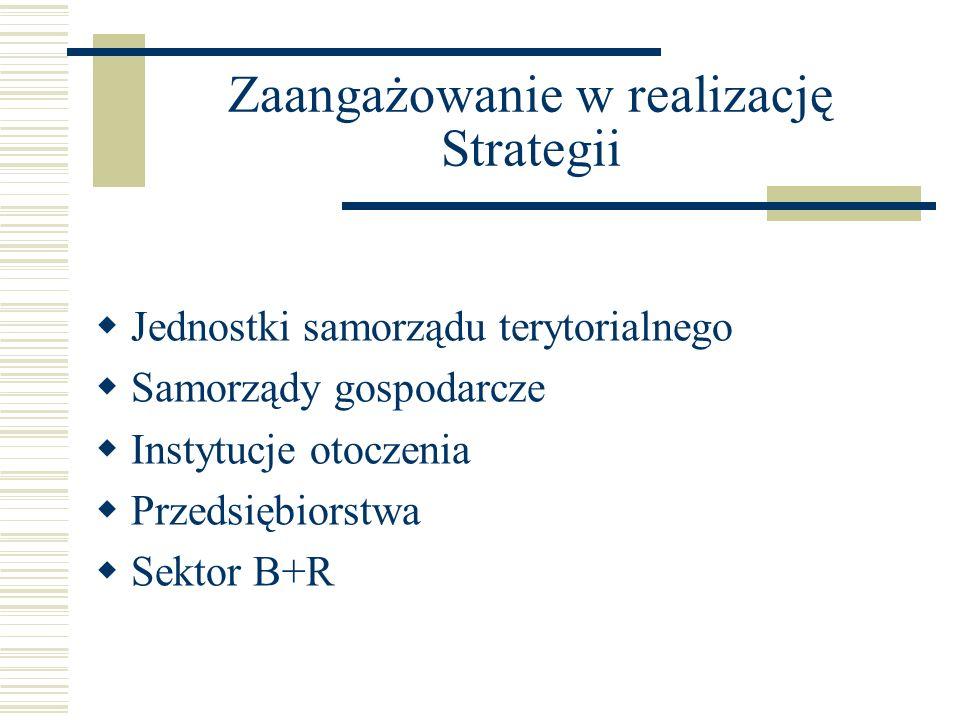 Zaangażowanie w realizację Strategii