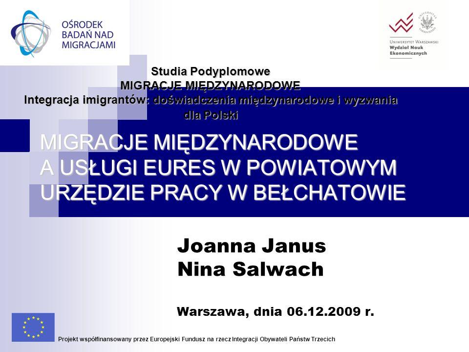 Joanna Janus Nina Salwach Warszawa, dnia 06.12.2009 r.